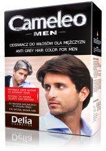 Парфюми, Парфюмерия, козметика Еднократна боя за коса за мъже - Delia Cameleo Men Anti Grey Hair Color