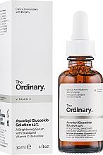 Парфюмерия и Козметика Изсветляващ серум за лице на основа на витамин С - The Ordinary Ascorbyl Glucoside Solution 12%