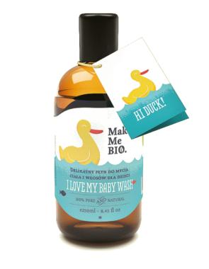 Деликатен детски гел за коса и тяло - Make Me BIO I love My Baby — снимка N1
