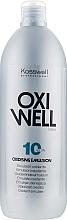 Парфюмерия и Козметика Емулсия-оксидант 3% - Kosswell Professional Oxidizing Emulsion Oxiwell 3% 10vol