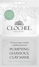 Парфюми, Парфюмерия, козметика Почистваща маска с глина - Clochee Purifying Ghassoul Clay Mask