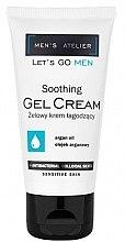 Парфюми, Парфюмерия, козметика Успокояващ гел-крем за лице - Hean Men's Atelier Soothing Gel Cream