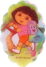 """Парфюми, Парфюмерия, козметика Детска гъба за баня """"Дора"""", 169-3 - Suavipiel Dora Bath Sponge"""