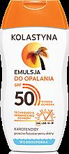Парфюмерия и Козметика Слънцезащитна емулсия SPF50 - Kolastyna