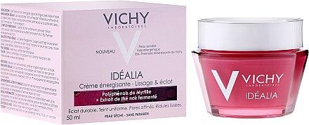 Крем за възстановяване на суха кожа - Vichy Idealia Smoothness & Glow Energizing Cream — снимка N1