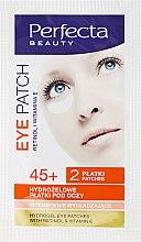 Парфюмерия и Козметика Хидрогел пачове за под очи - DAX Perfecta Eye Patch 45+