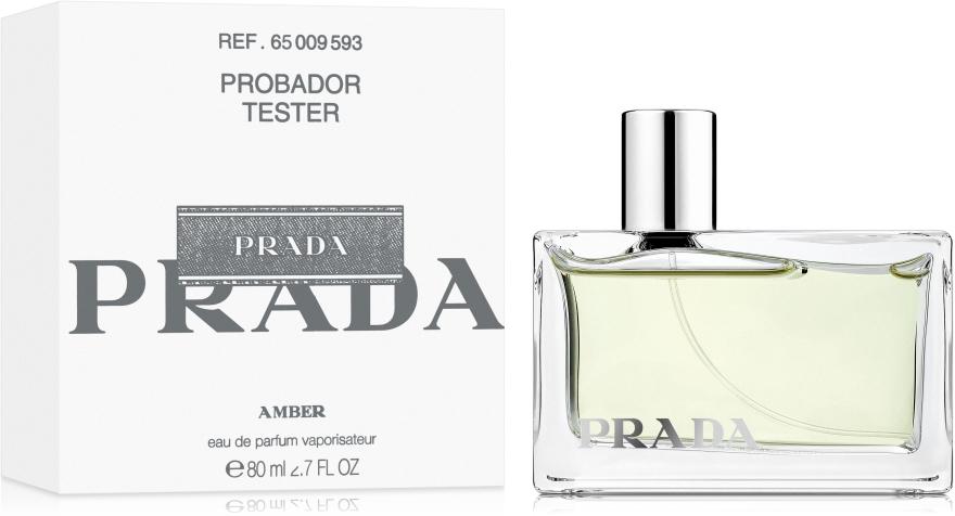 Prada Amber - Парфюмна вода ( тестер с капачка )  — снимка N2