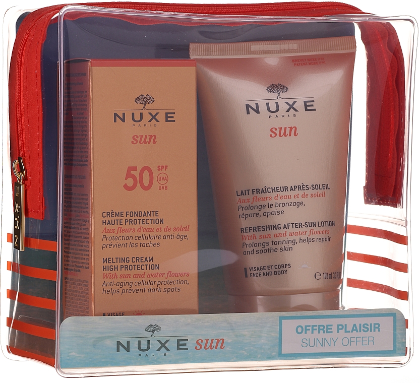 Слънцезащитен комплект - Nuxe Sun Set Summer Protection Ritual (крем/50ml + лосион/100ml)