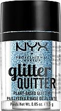 Парфюмерия и Козметика Глитер за лице и тяло - NYX Professional Makeup Glitter Quitter Plant-Based Glitter