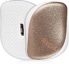 Парфюмерия и Козметика Компактна четка за коса - Tangle Teezer Compact Styler Glitter Gold