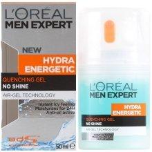 Парфюми, Парфюмерия, козметика Гел след бръснене - L'Oreal Paris Men Expert Hydra Energetic Moisturizer Quenching Gel