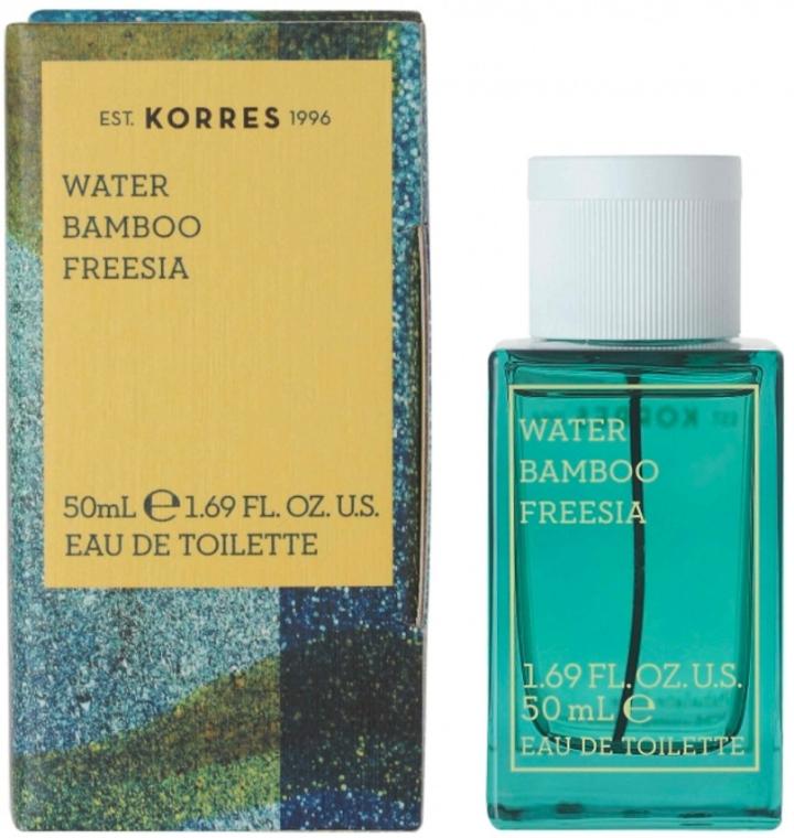 Korres Water Bamboo Freesia - Тоалетна вода