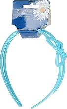 Парфюмерия и Козметика Диадема за коса, 27161, синя - Top Choice