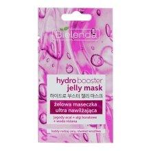 Парфюми, Парфюмерия, козметика Ултраовлажняваща гел-маска за всеки тип кожа - Bielenda Hydro Booster Jelly Mask