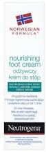 Парфюмерия и Козметика Подхранващ крем за крака - Neutrogena Nourishing Foot Cream 24H