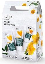 Парфюми, Парфюмерия, козметика Комплект - Tolpa Green Pure (душ гел/200ml + лосион за тяло/200ml + концентрат за ръце/75ml)