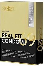 Парфюмерия и Козметика Анатомични презервативи - Egzo Real Fit