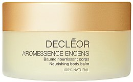 Парфюми, Парфюмерия, козметика Подхранващ балсам за тяло - Decleor Aromessence Encens Nourishing Body Balm