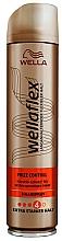 Парфюмерия и Козметика Лак за коса с екстрасилна фиксация - Wella Wellaflex Frizz Control Haarspray