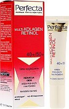 Парфюмерия и Козметика Околоочен крем - Dax Cosmetics Perfecta Multi-Collagen Retinol Eye Cream 40+/50+