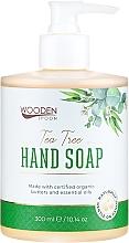 Парфюмерия и Козметика Течен сапун с чаено дърво - Wooden Spoon Tea Tree Hand Soap
