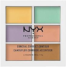 Парфюми, Парфюмерия, козметика Палитра коректори за лице - NYX Professional Makeup Color Correcting Palette