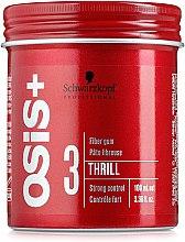Парфюми, Парфюмерия, козметика Моделиращ продукт за силна фиксация - Schwarzkopf Professional Osis+ Thrill Texture Fibre Gum