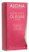 Парфюми, Парфюмерия, козметика Подхранващо масло-елексир за коса - Alcina Nutri Shine Oil Elixir