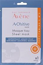 Парфюмерия и Козметика Антиоксидантна памучна маска за лице - Avene A-Oxitive Mask