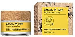 Парфюмерия и Козметика Крем против бръчки за лице с масло Монои - Gracja Bio Face Cream