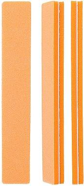 Полираща пила за нокти 100\180, оранжева - Tools For Beauty Straight Orange — снимка N1