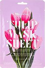 Парфюмерия и Козметика Маска за лице с екстракт от лале - Kocostar Slice Mask Sheet Tulip Flower