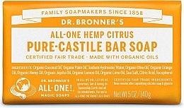 """Парфюми, Парфюмерия, козметика Сапун """"Цитрус и портокал"""" - Dr. Bronner's Pure Castile Bar Soap Citrus & Orange"""