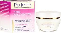 Парфюмерия и Козметика Дневен хидратиращ крем за лице с SPF20 - Perfecta Cera Naczynkowa SPF20 Cream