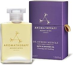 Парфюмерия и Козметика Масло за душ и вана - Aromatherapy Associates De-Stress Muscle Bath & Shower Oil