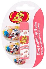 Парфюмерия и Козметика Балсам за устни - Jelly Belly Tutti-Fruitti Lip Balm