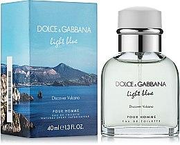 Парфюмерия и Козметика Dolce & Gabbana D&G Light Blue Discover Vulcano - Тоалетна вода (тестер с капачка)