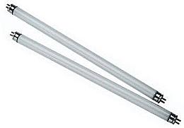 Парфюмерия и Козметика Резерни UV лампи 8 W - IBD Jet 5000/3000 2 UV Bulbs