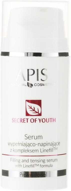 Укрепващ серум за лице против бръчки - APIS Professional Secret Of Youth Filling And Tensing Serum