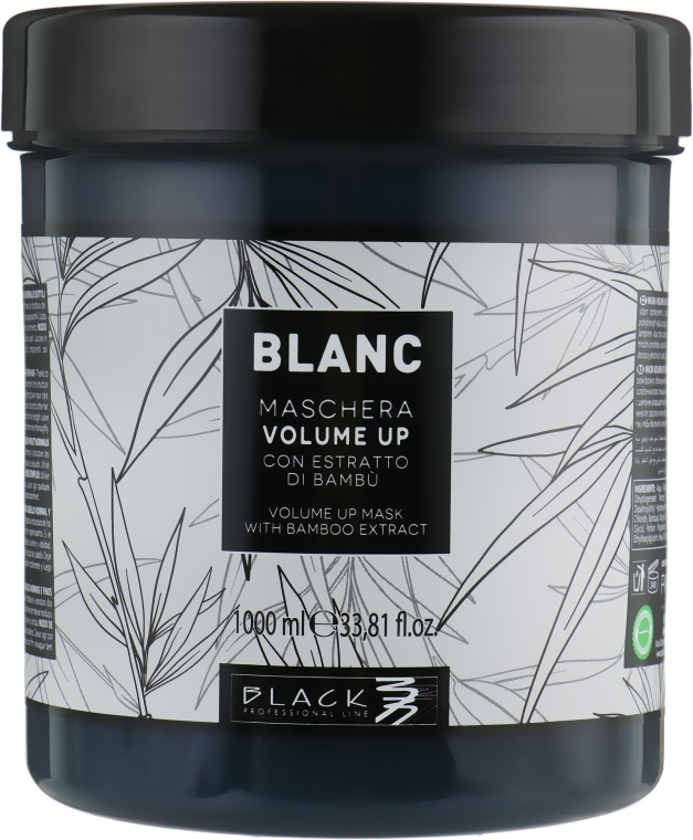 Маска за обем на косата - Black Professional Line Blanc Volume Up Mask — снимка N2