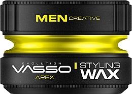 Парфюмерия и Козметика Моделиращ восък за коса - Vasso Professional Hair Styling Wax Apex