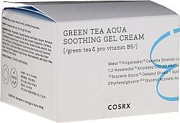 Парфюмерия и Козметика Успокояващ гел-крем за лице - Cosrx Hydrium Green Tea Aqua Soothing Gel Cream