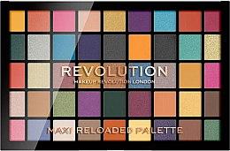 Парфюмерия и Козметика Палитра сенки за очи, 45 цветове - Makeup Revolution Maxi Reloaded Palette