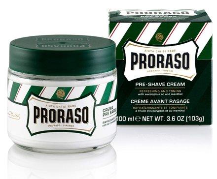 Крем преди бръснене с ментол и евкалипт - Proraso Green Pre Shaving Cream — снимка N3
