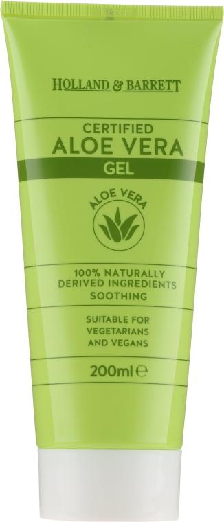 Гел за тяло с алое вера - Holland & Barrett Certified Aloe Vera Gel — снимка N1