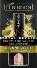 """Парфюми, Парфюмерия, козметика Балсам за нокти """"Течно злато"""" - Bielenda Liquid Gold Nail Conditioner"""