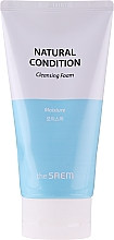 Овлажняваща пяна за лице - The Saem Natural Condition Cleansing Foam — снимка N1