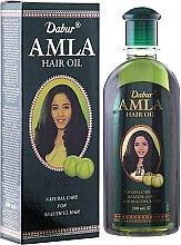 Парфюмерия и Козметика Масло за коса - Dabur Amla Hair Oil (продуктът не е подходящ за светла коса)
