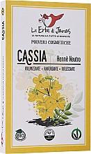 Парфюмерия и Козметика Натурален прах за коса от Касия - Le Erbe di Janas Cassia (Neutral Henna)