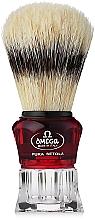 Парфюмерия и Козметика Четка за бръснене с поставка, 81052 - Omega